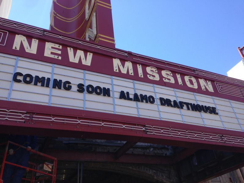 Alamo Drafthouse at the New Mission