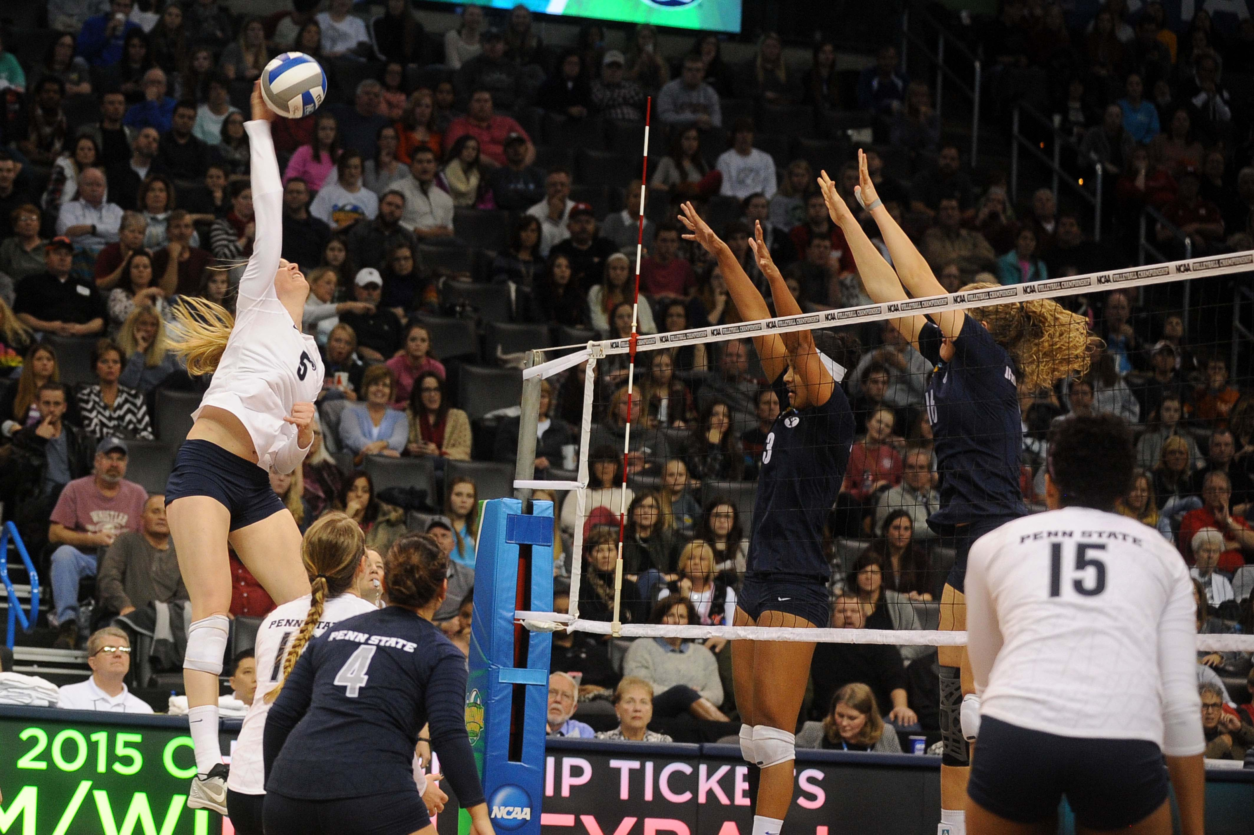 Frantti led the team in kills the first weekend of the tourney.