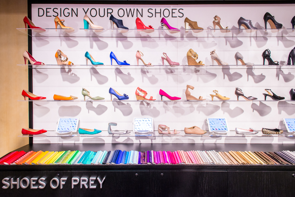 Nordstrom Invests Big in Customizable Shoes
