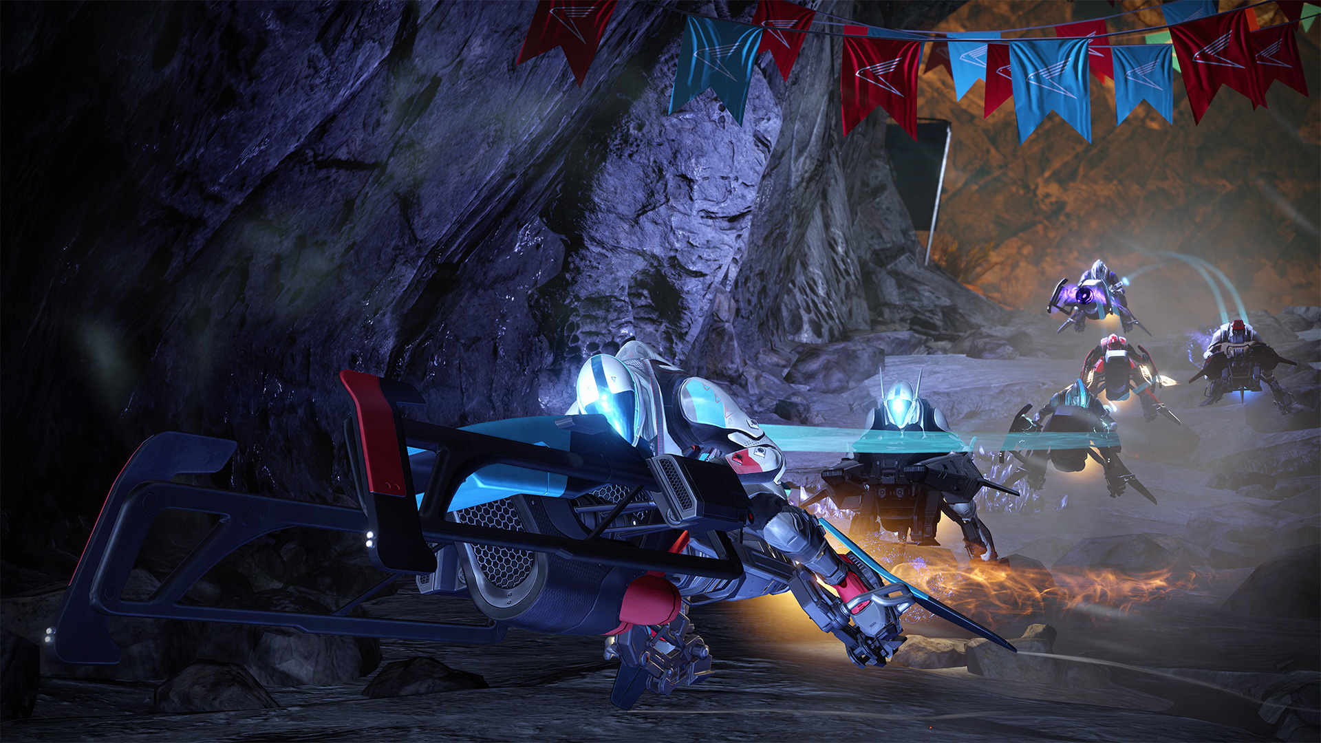 Here's how Destiny's new Sparrow racing mode works