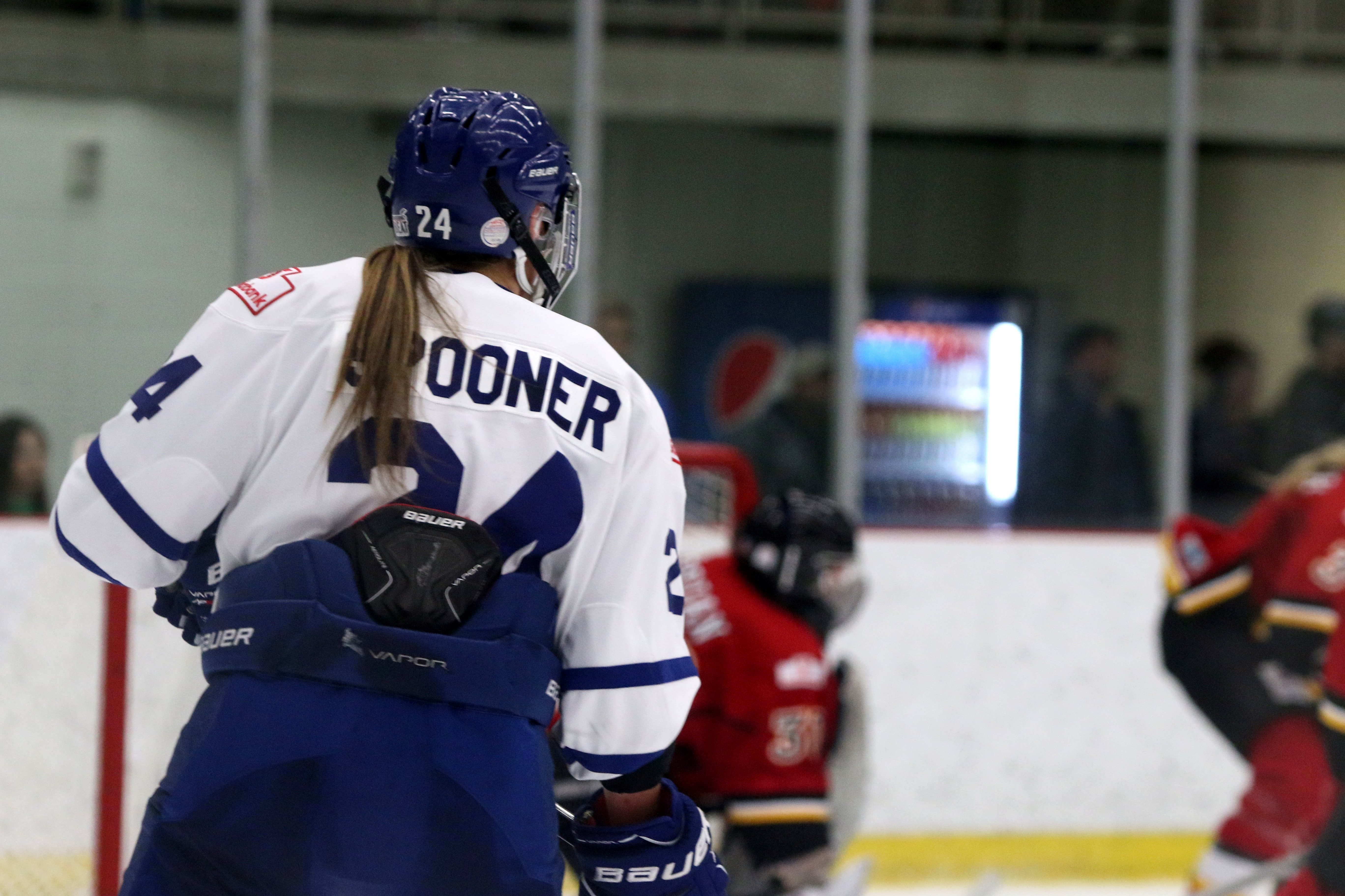 Natalie Spooner's five goals Sunday put her at seven total and eight points overall against the Inferno this weekend, as the Furies earned a 6-5 win, splitting the weekend.