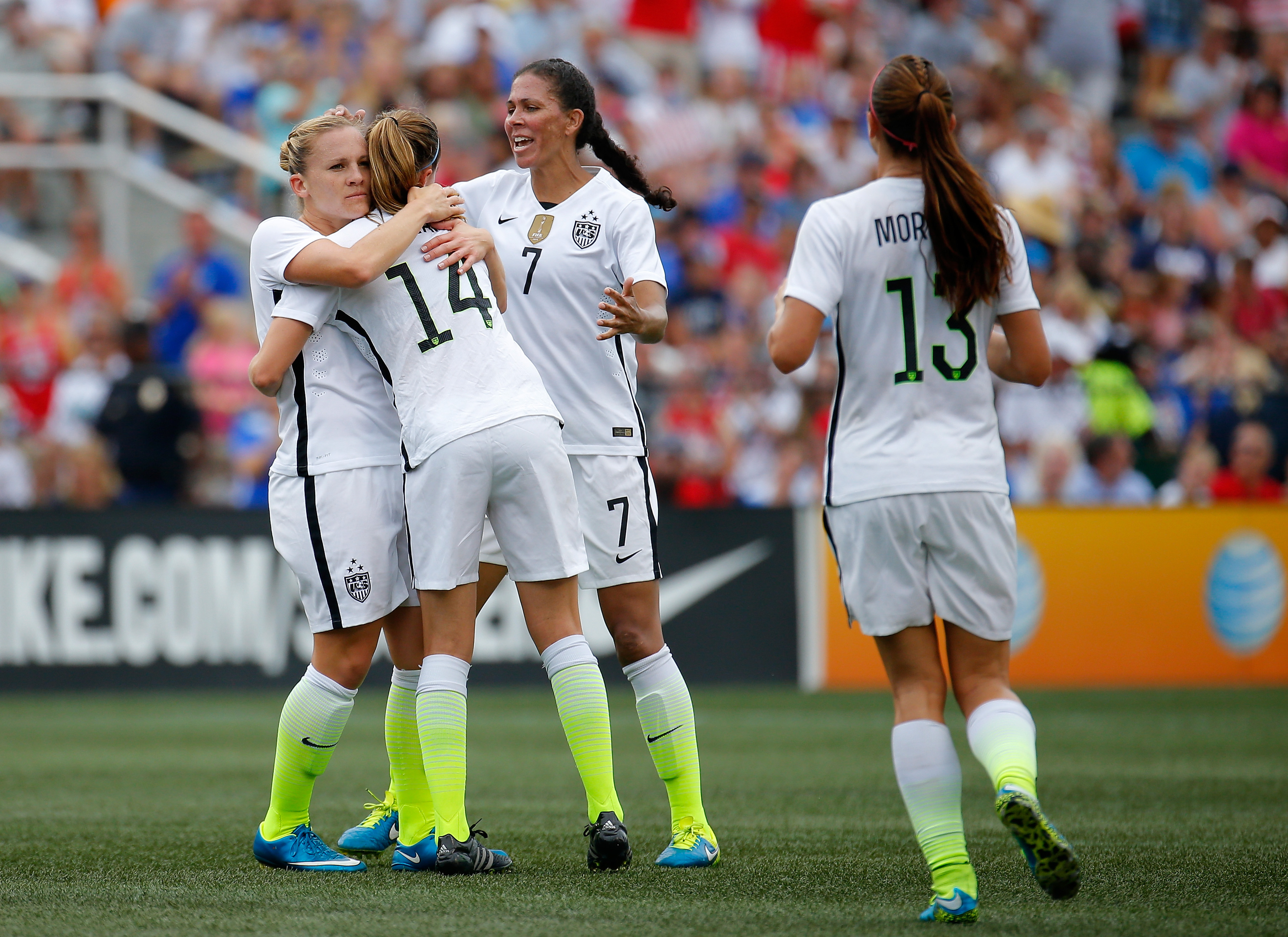America's world champion women's soccer team is treated worse than our mediocre men's team