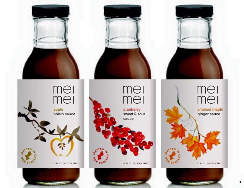 Mei Mei's lineup of sauces