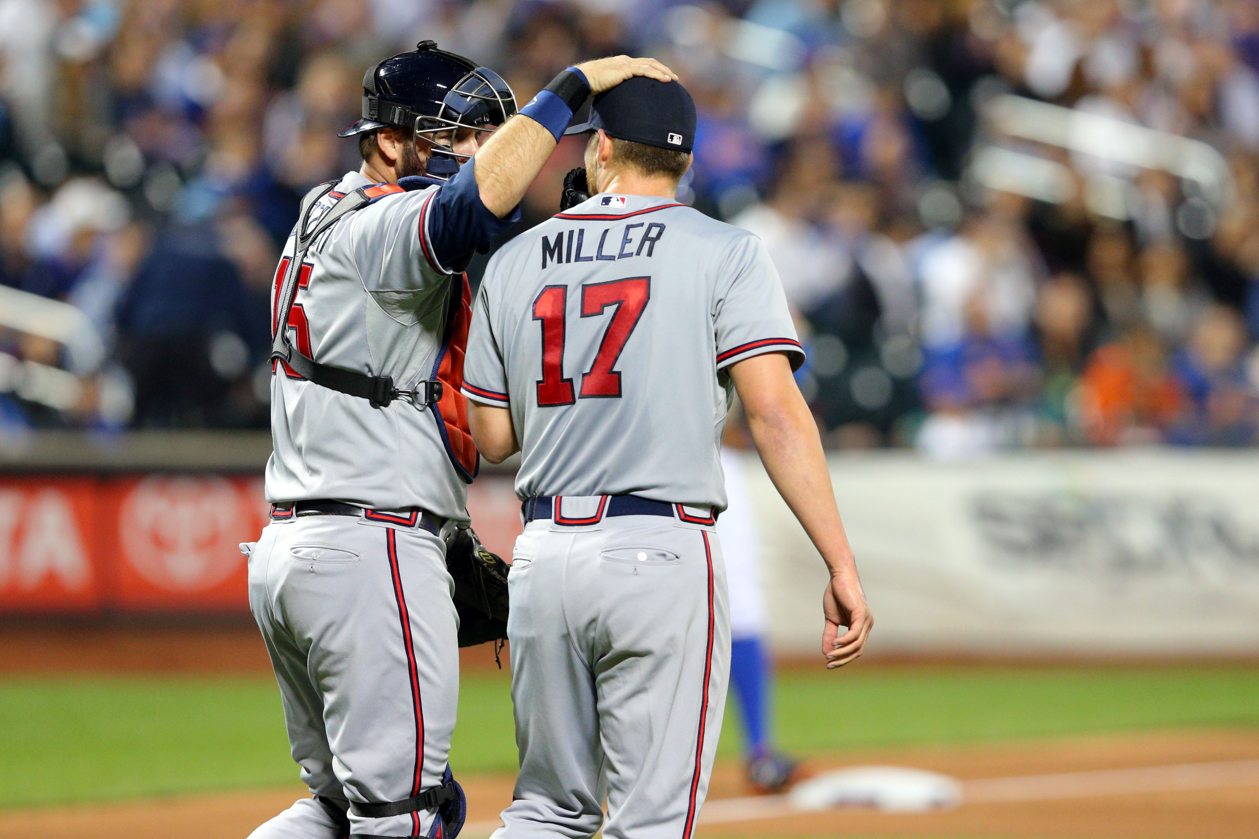 Let's hope MIller gets some more run support than the Braves game him