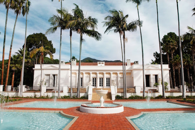 """El Fureidis,"" the Santa Barabara, California mansion that played the role of Tony Montana's massive estate in Scarface."