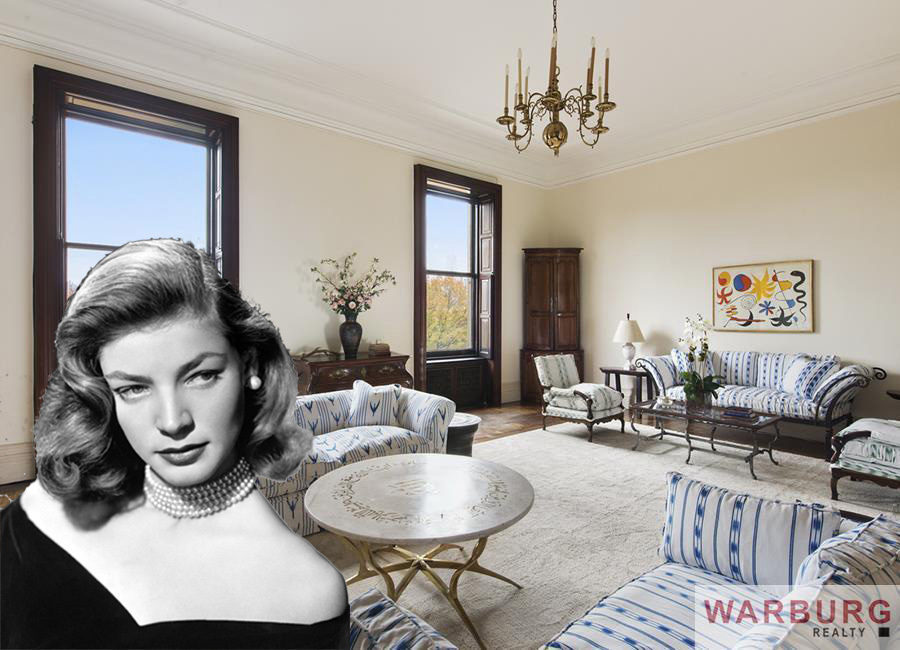 Lauren Bacallu0027s $26M Dakota Apartment Is Officially For Sale