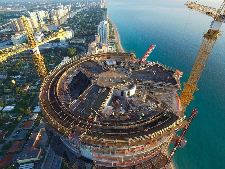 Porsche Design Tower Curbed Miami