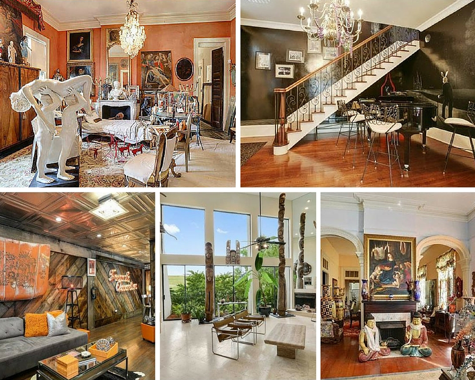 7 Homes On The Market With Weird, Wonderful Decor