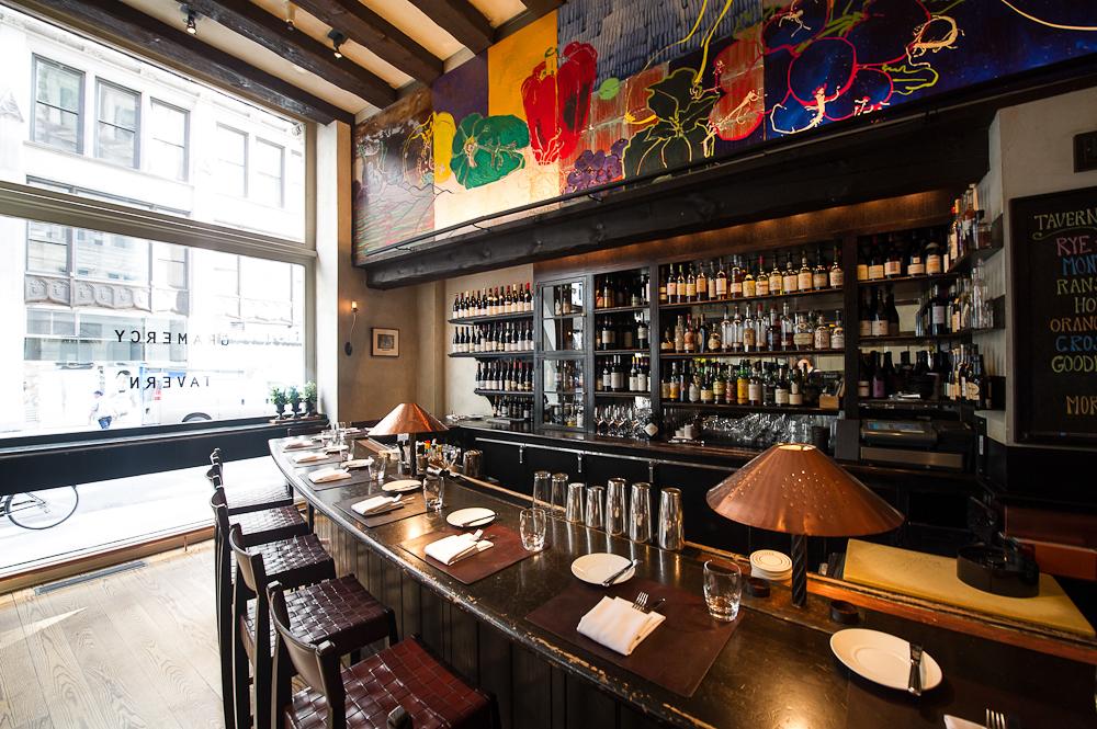 [The tavern room at Gramercy Tavern]