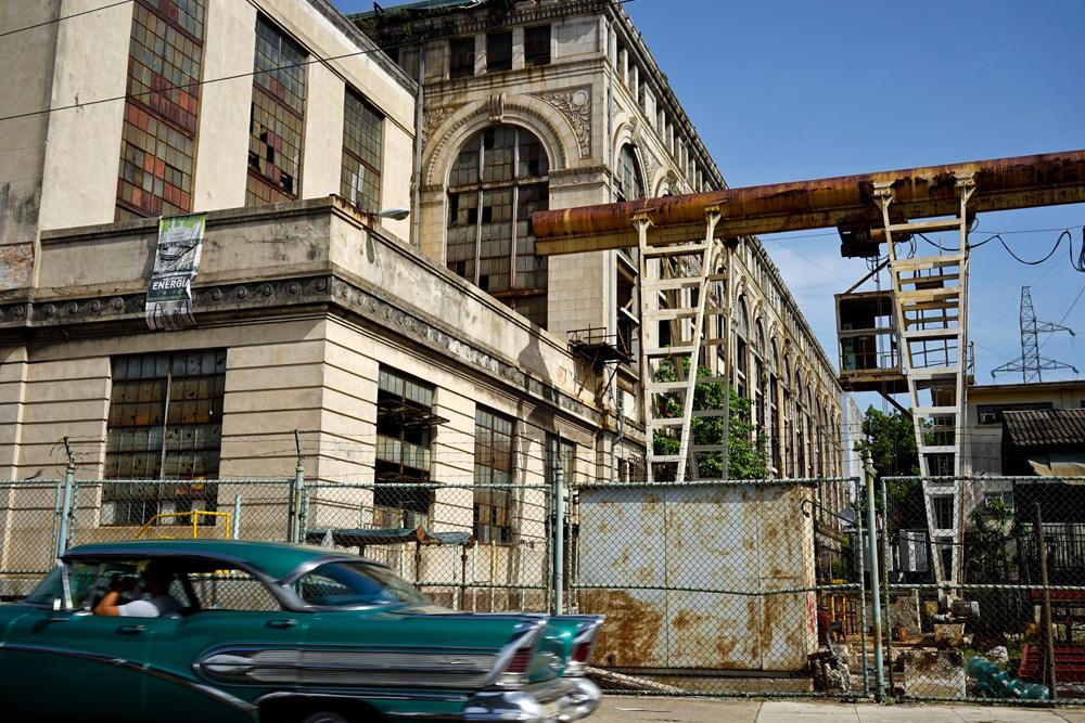 "The defunct Tallapiedra electric plant. Photos by <a href=""http://www.cubarising.org/"">Hannah Berkeley Cohen</a>."