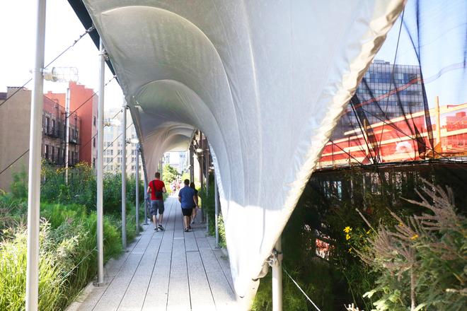 High Line Curbed Ny