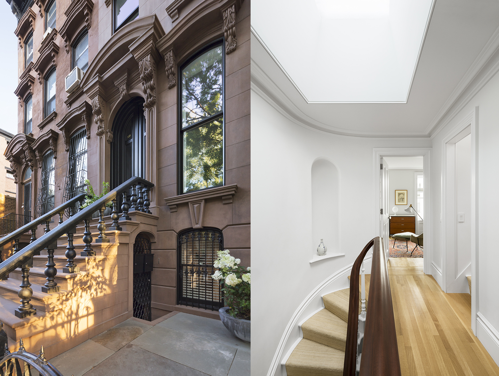 Traditional brownstone in brooklyn heights with contemporary - Part Viii At Last Moving In To The Renovated Brownstone