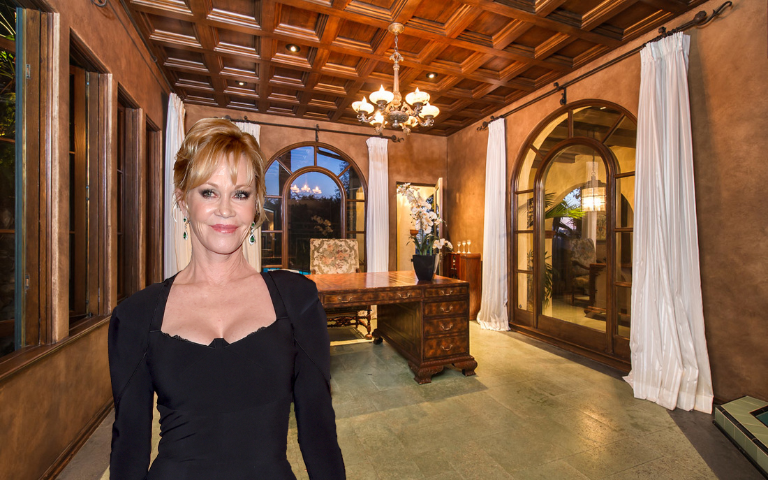 Melanie Griffith via Getty Images