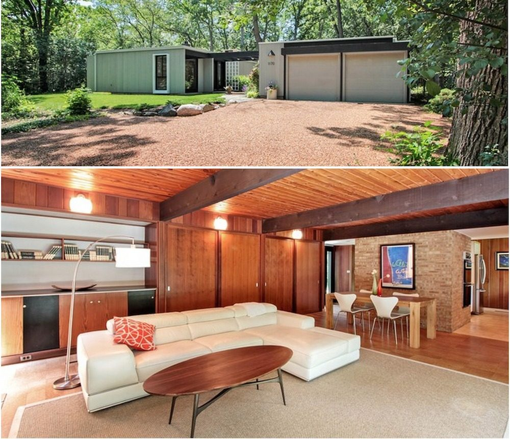 Superb In Lake Forest, A Lovely Mid Century Modern Home Asks $499K