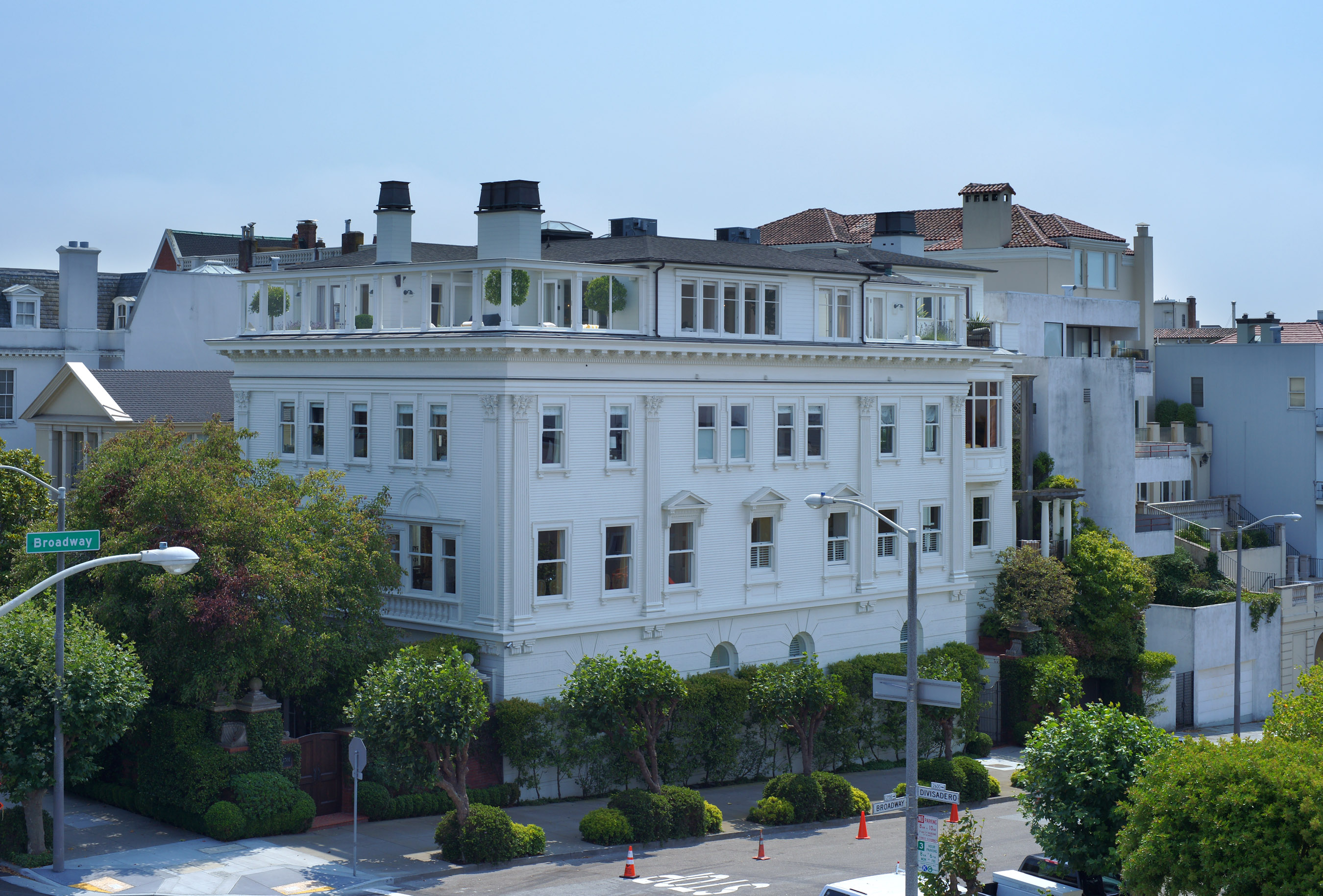Pacific Heights San Francisco Map.Billionaires Row Curbed Sf