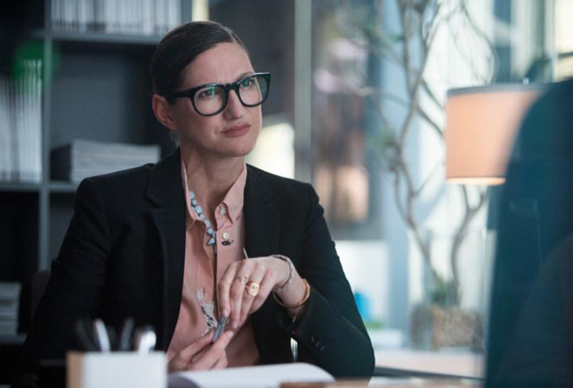 Jenna Lyons plays editor on <i>Girls</i>.