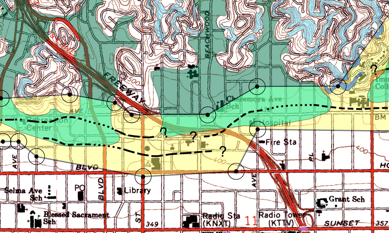 Seattles Faults Maps That Highlight Our Shaky Ground KUOW News - Los angeles fault zone map