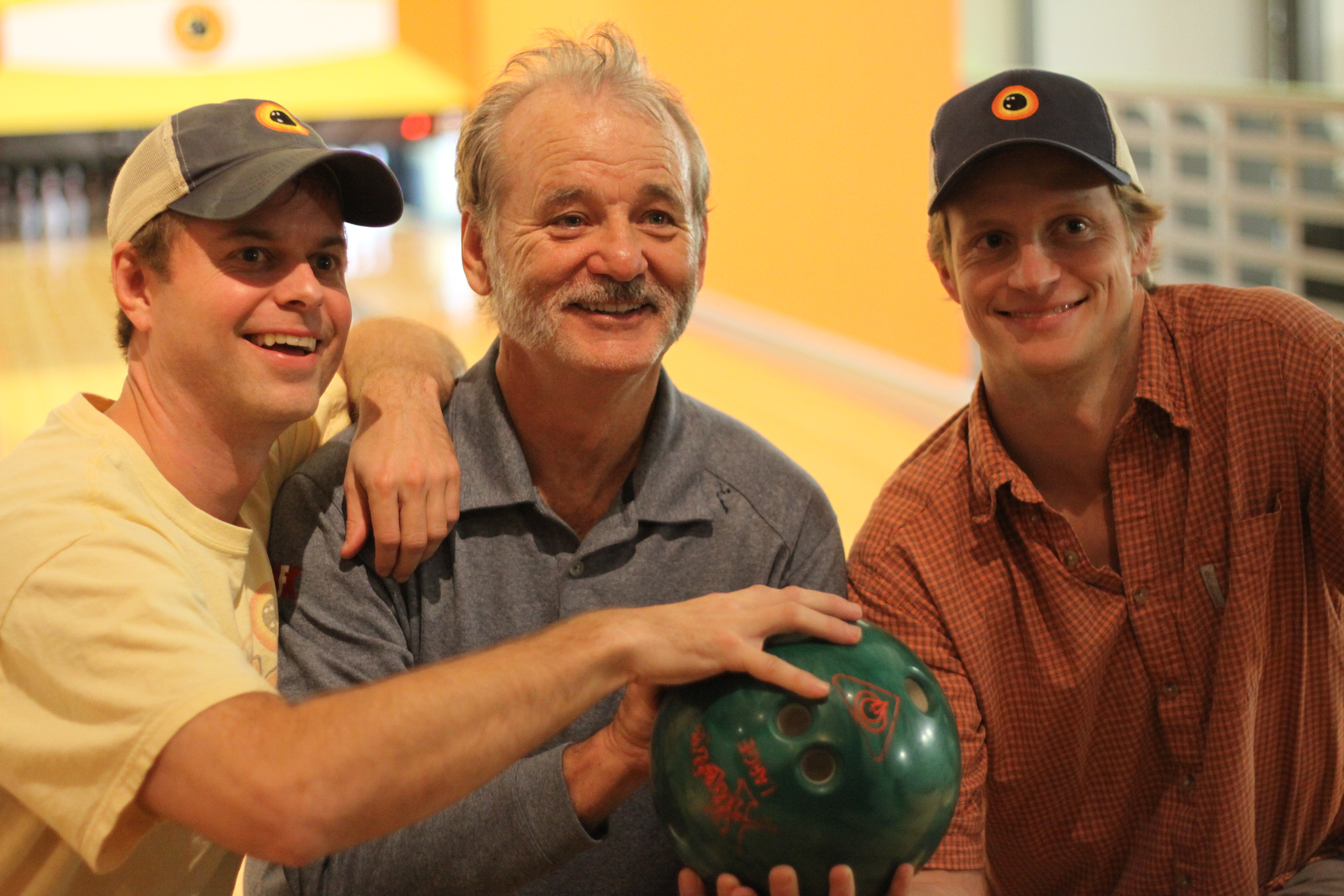Co-owners of The Alley with Bill Murray