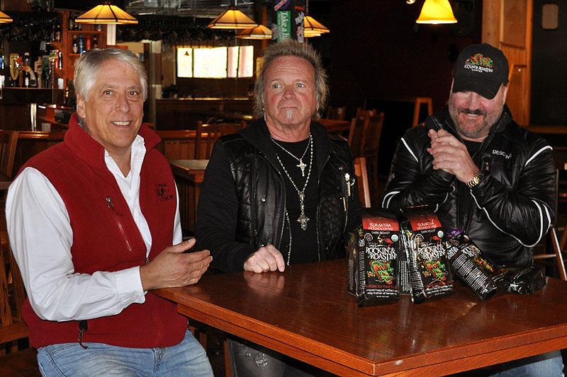 L-R: Les Otten, Joey Kramer, and Frank Climer.