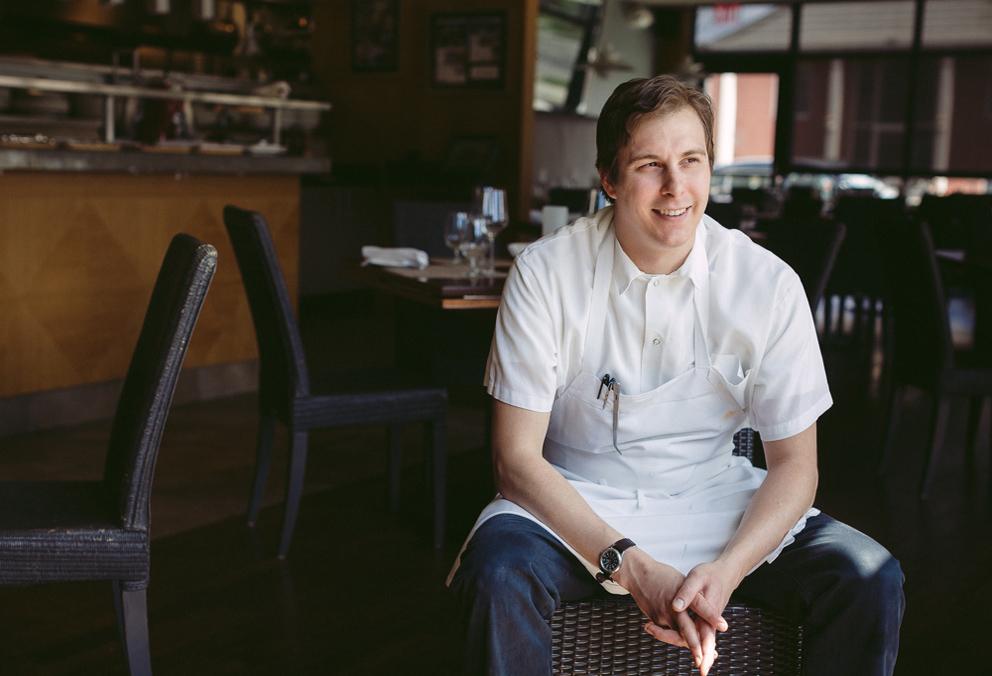 Chef Nick Janutol.