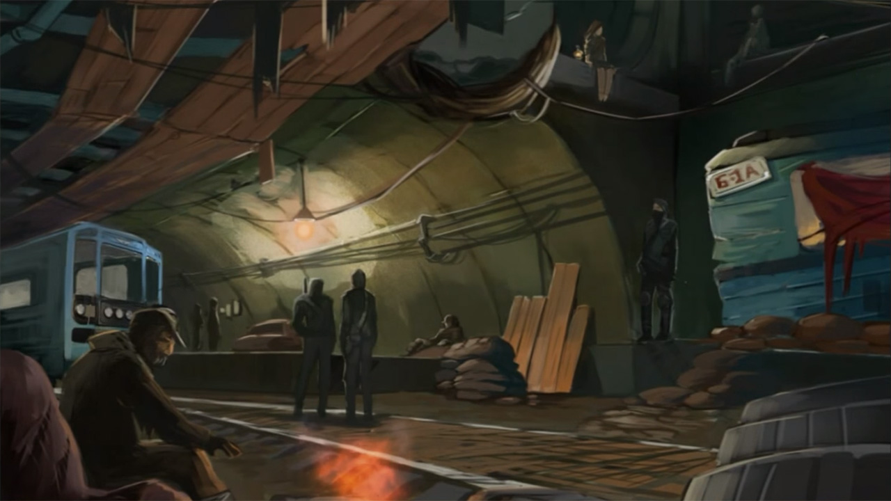 Metro 2033 strategy game now available on Android and iOS (correction)