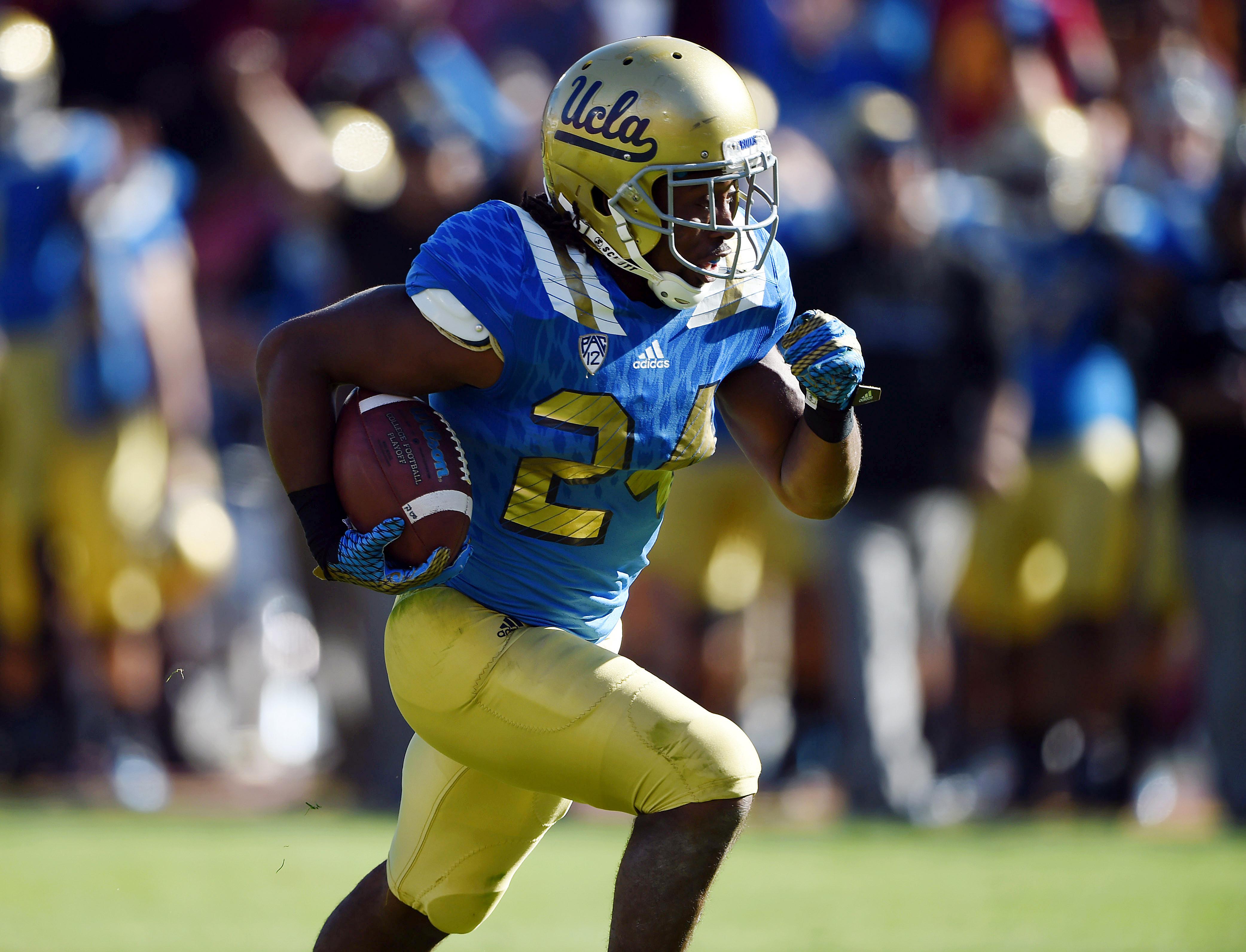UCLA running back, Paul Perkins