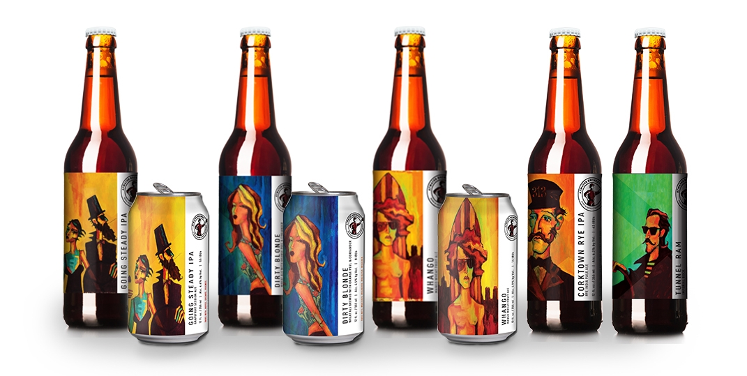 Atwater's new beer labels feature designs by artist Tony Roko.