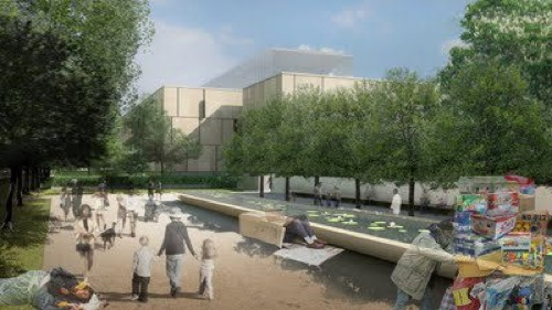 Barnes rendering with homeless