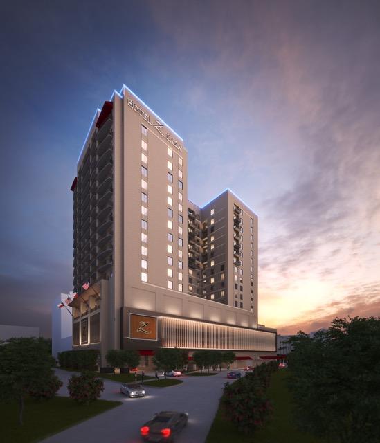 Rendering for Hotel ZaZa Memorial City