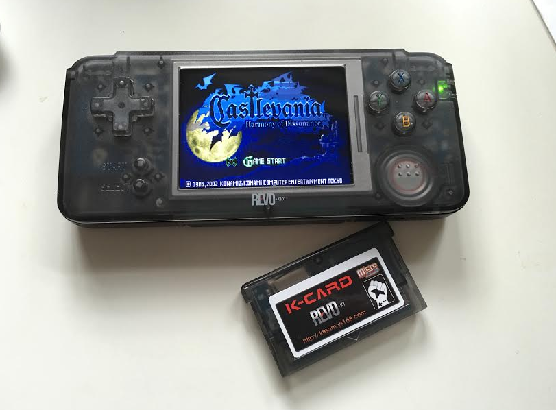 Dive back into your GBA collection with the $69.99 REVO K101 Plus