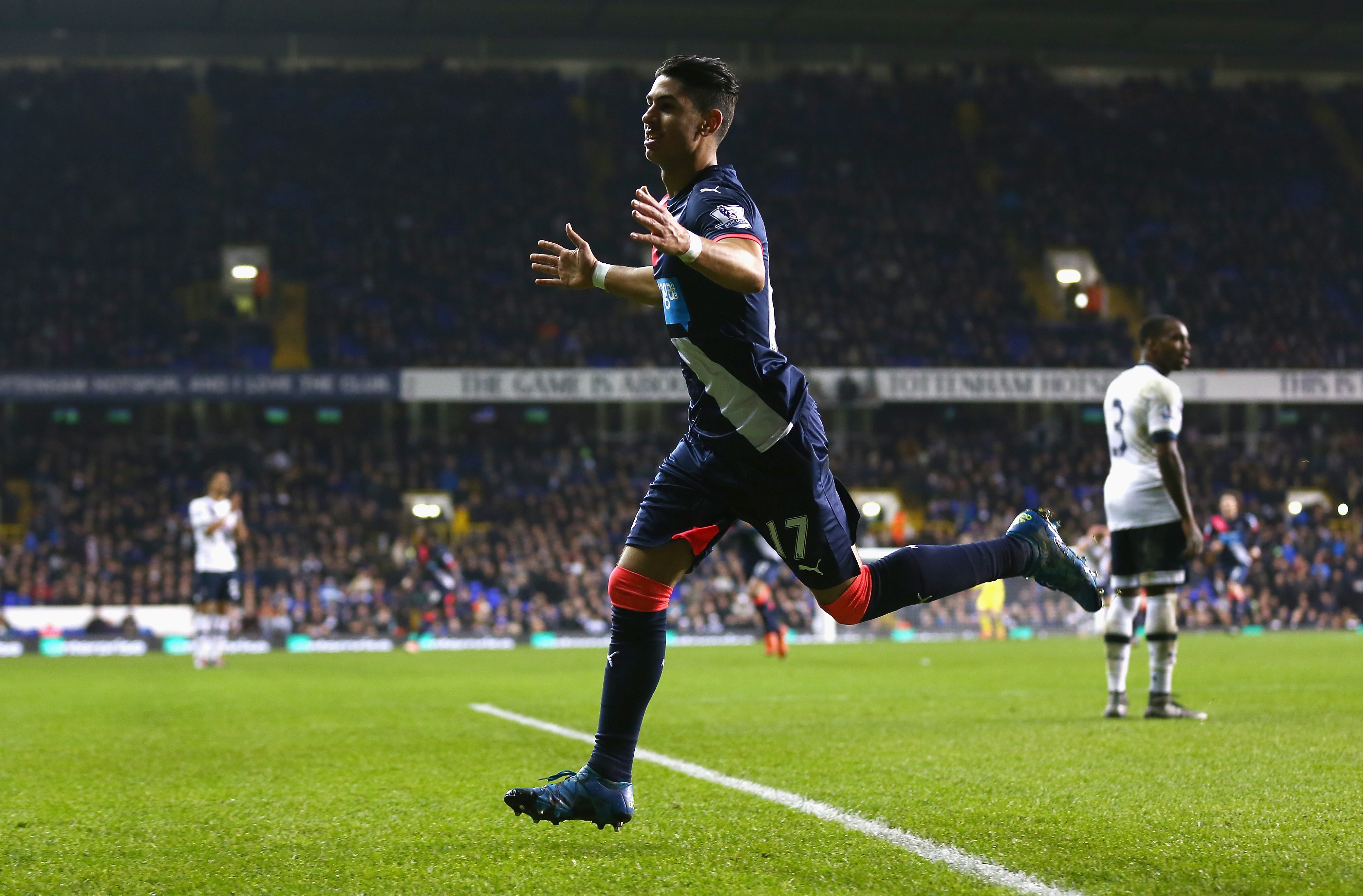 LOL at the look on Danny Rose's face