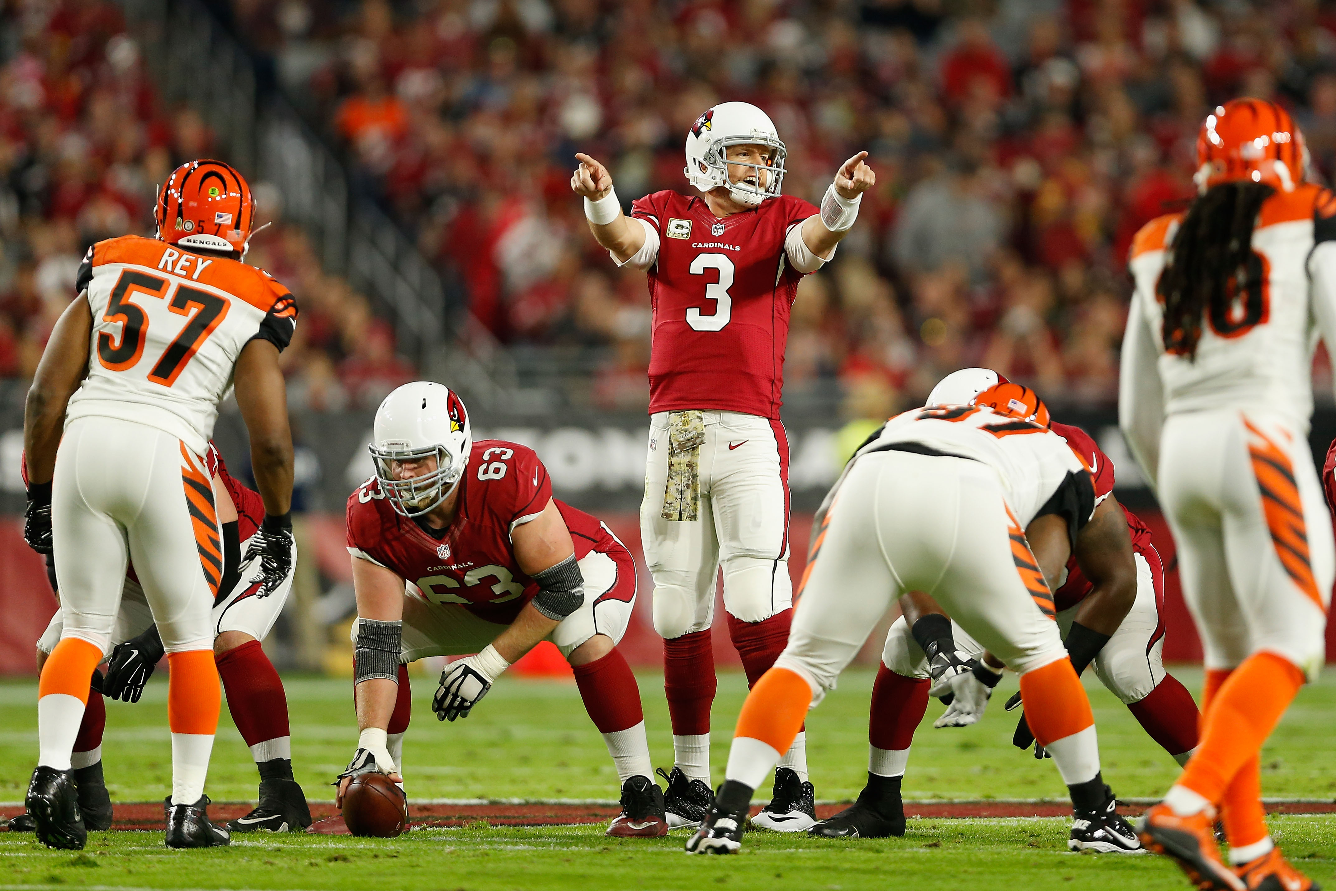 Can Carson Palmer and the Cardinals help the Giants on Sunday night?