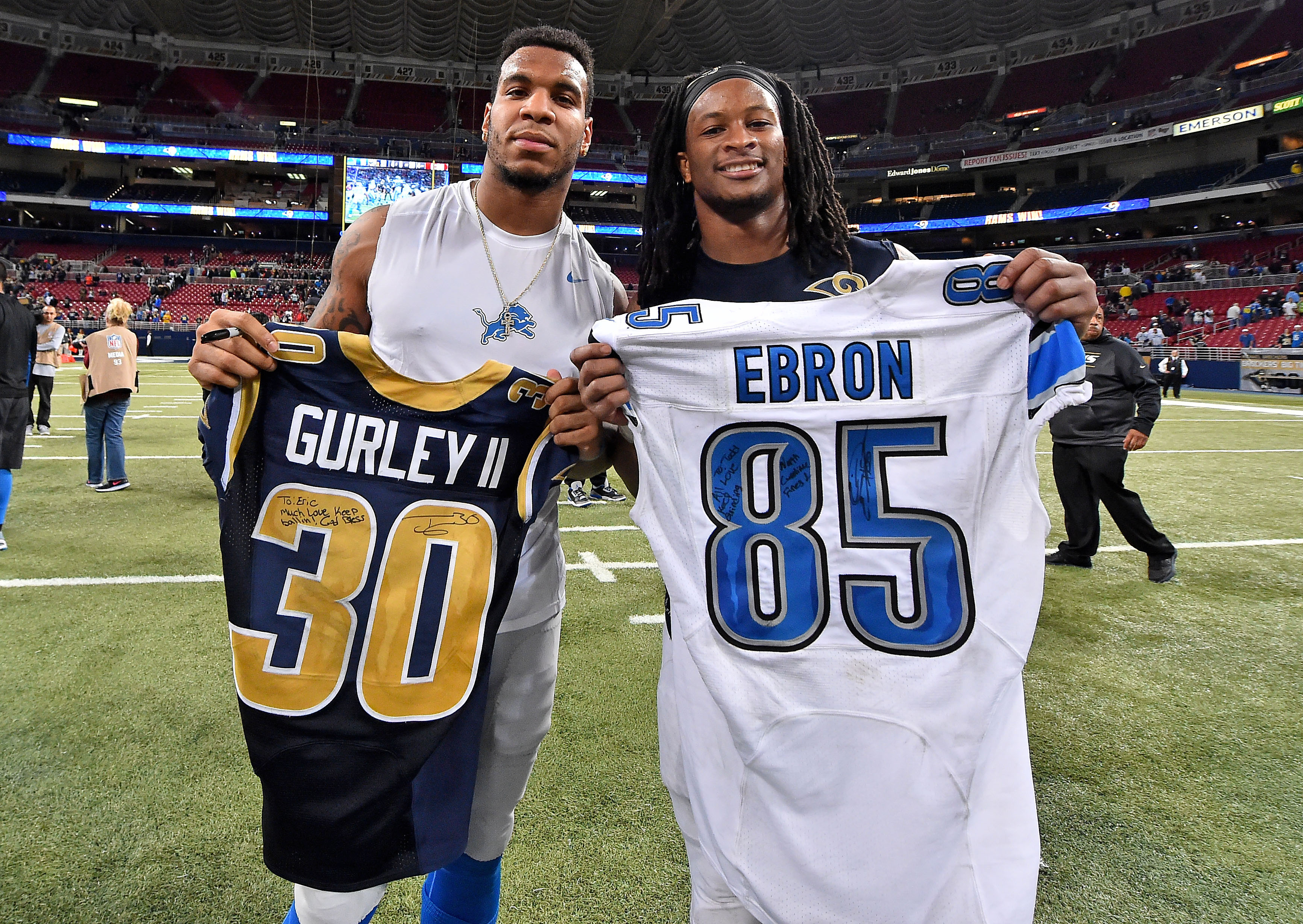 One jersey will be worth more than the other...