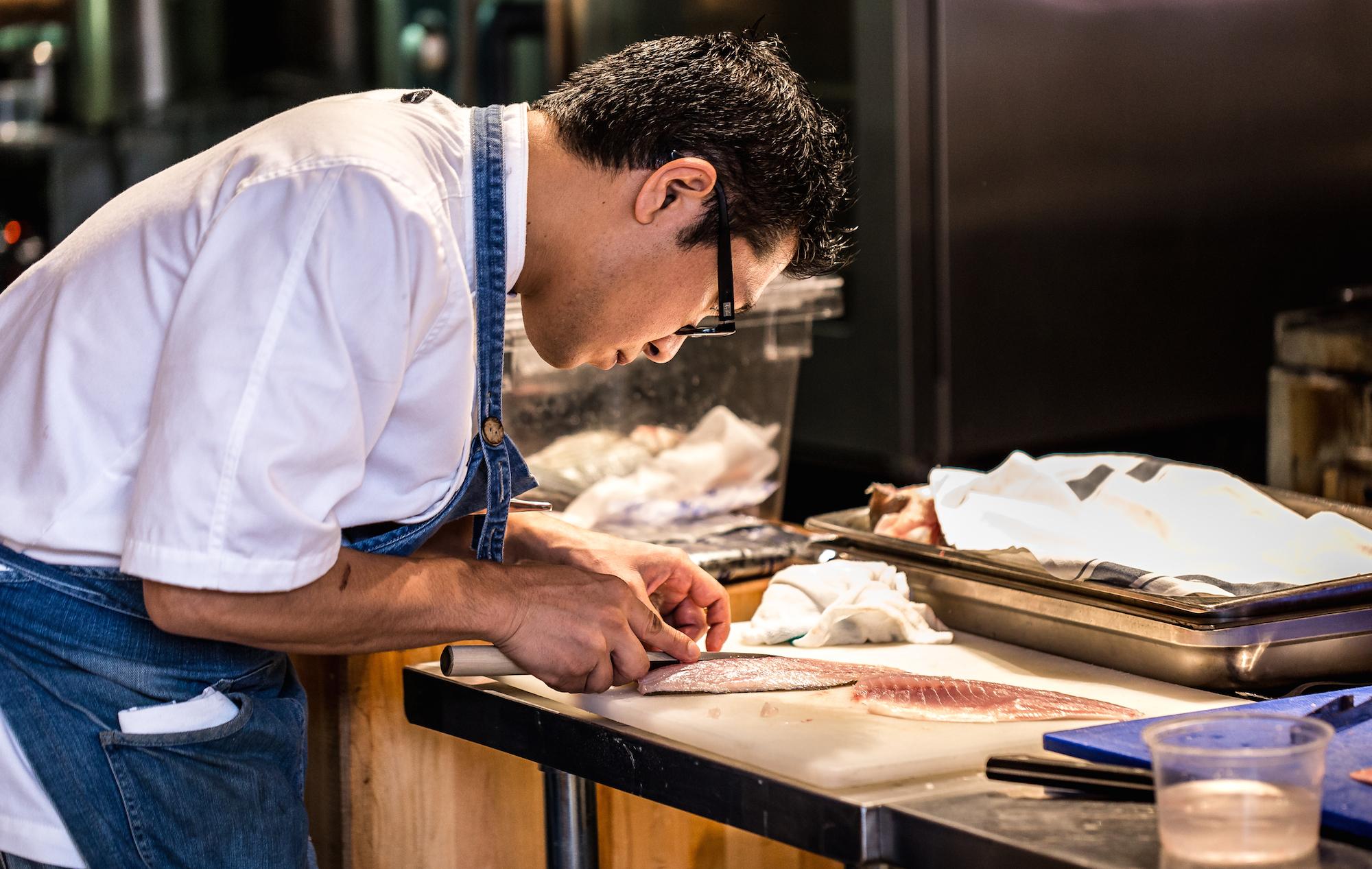 Chef Takeshi Horinoue