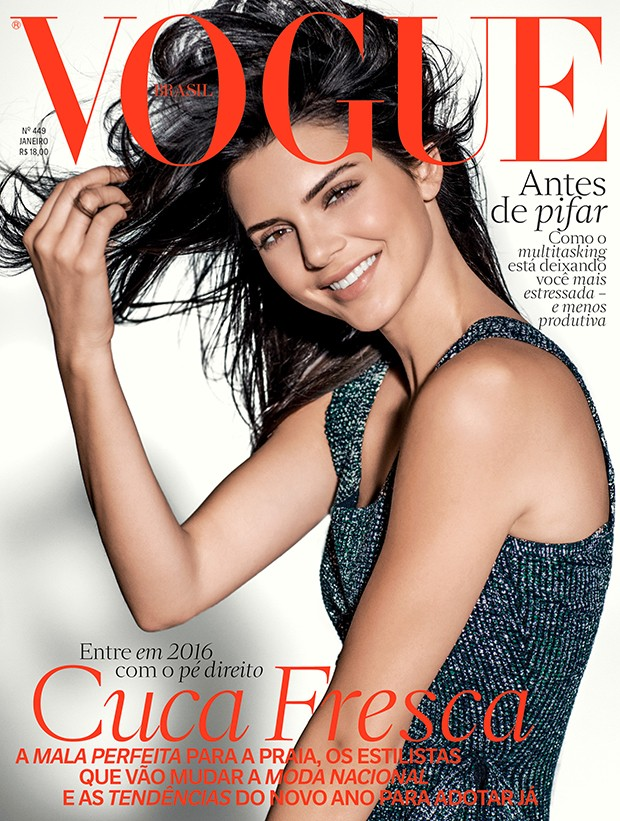 Kendall Jenner's Vogue Brazil Cover Makes Spanish Speakers Giggle