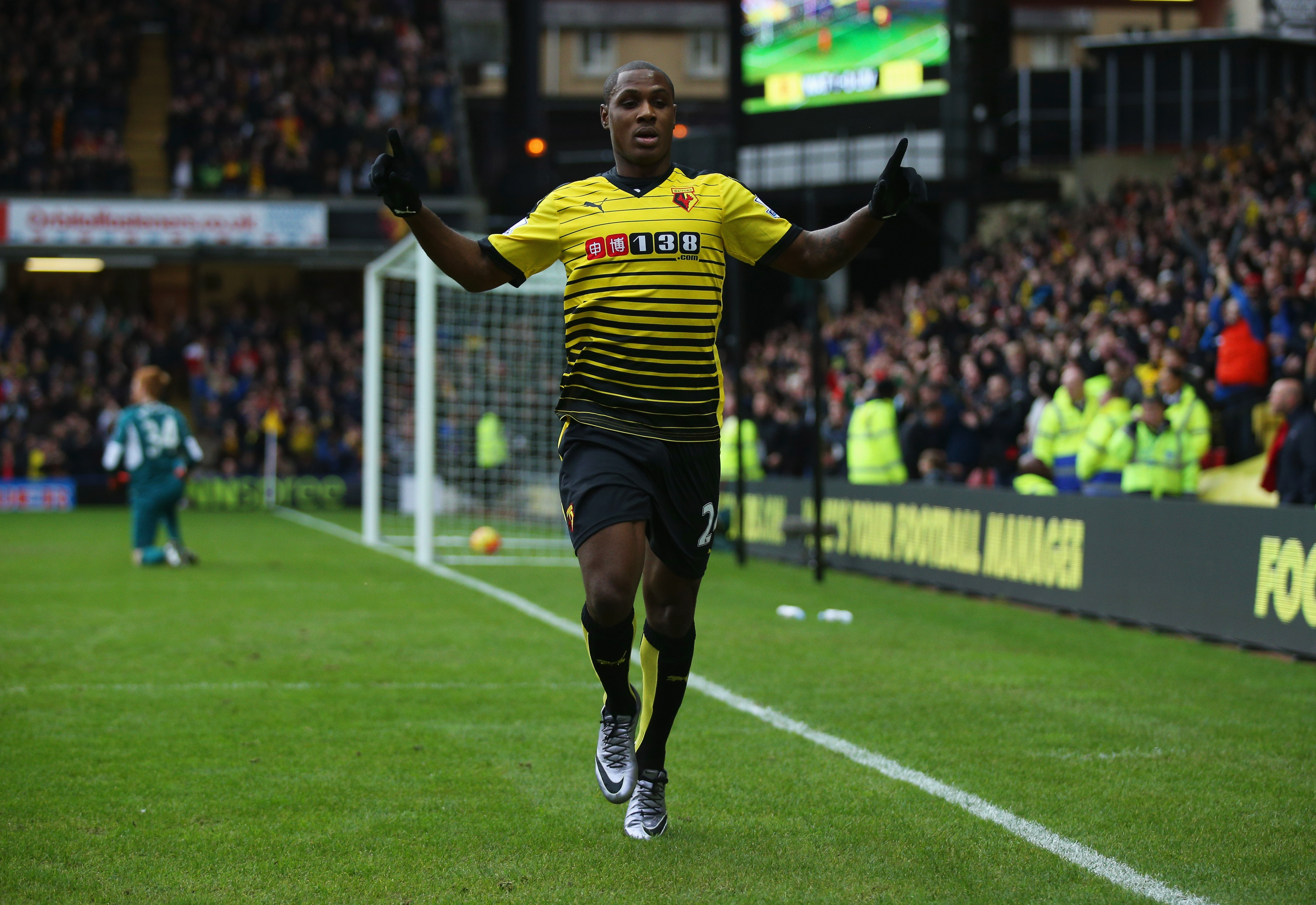 Ighalo is giving Leicester's dynamic duo a run for their money.