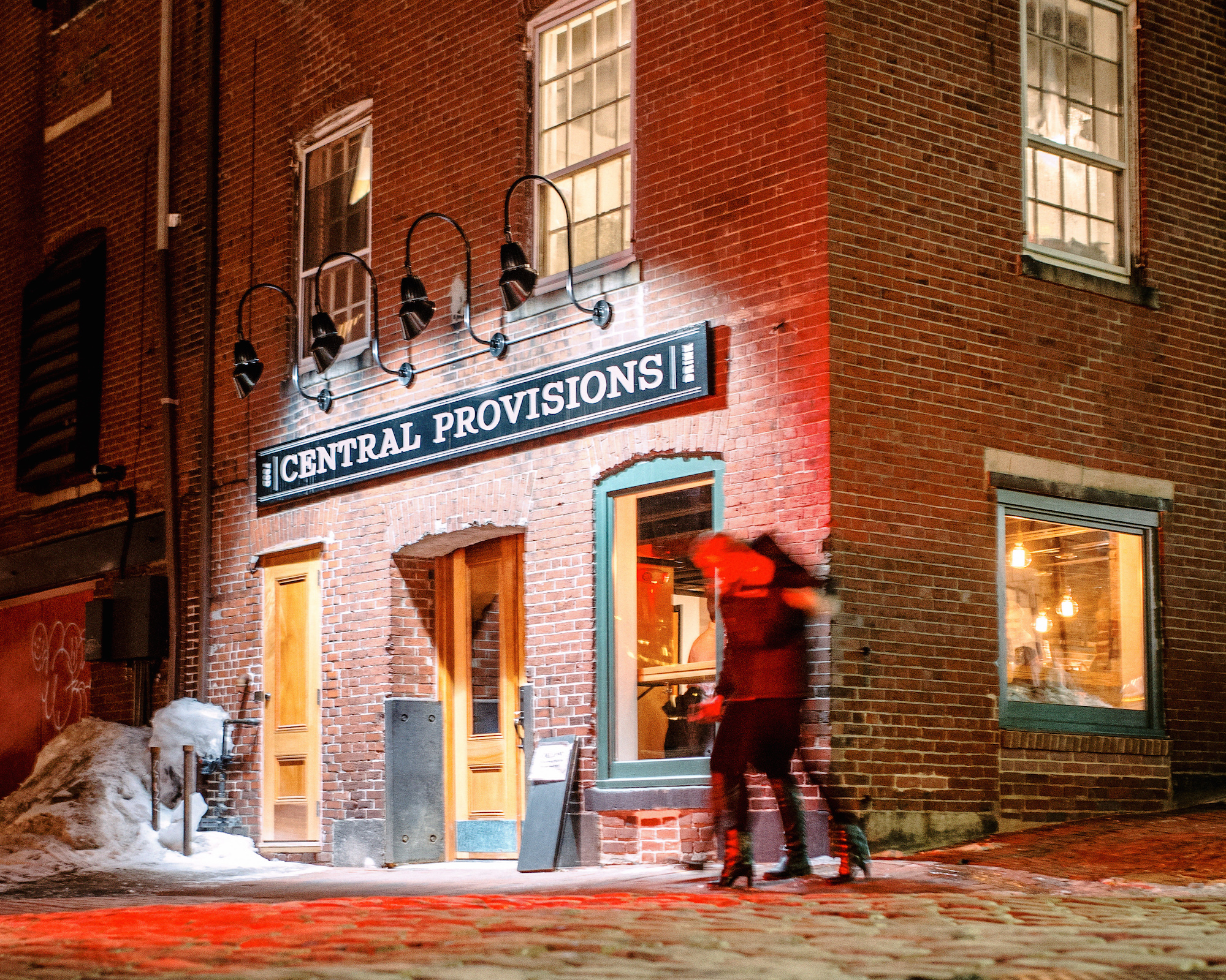 Central Provisions in snowier times.
