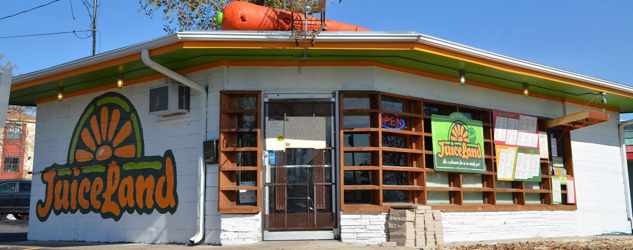 An Austin location of JuiceLand, coming soon to Dallas.