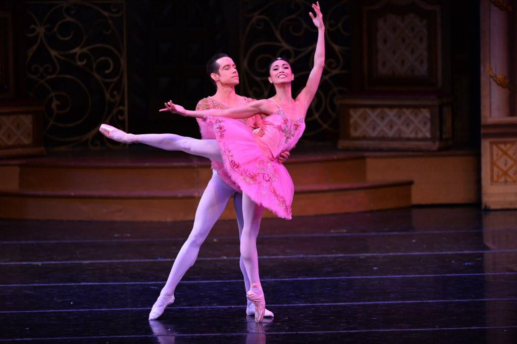 Stella Abrera and Sascha Radetsky of American Ballet Theatre.
