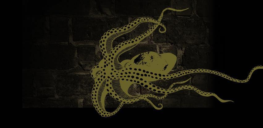 Rhum's octopus logo from Might and Main.