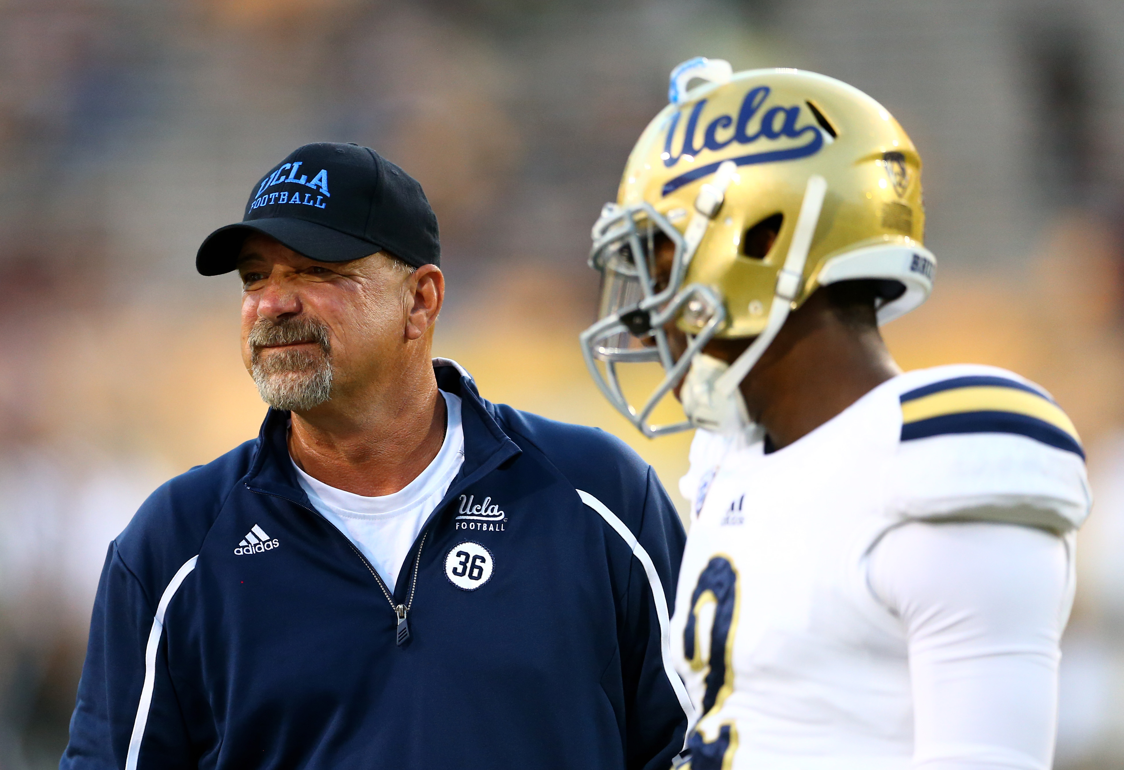 Noel Mazzone remains the biggest question mark for UCLA heading into the Foster Farms Bowl.