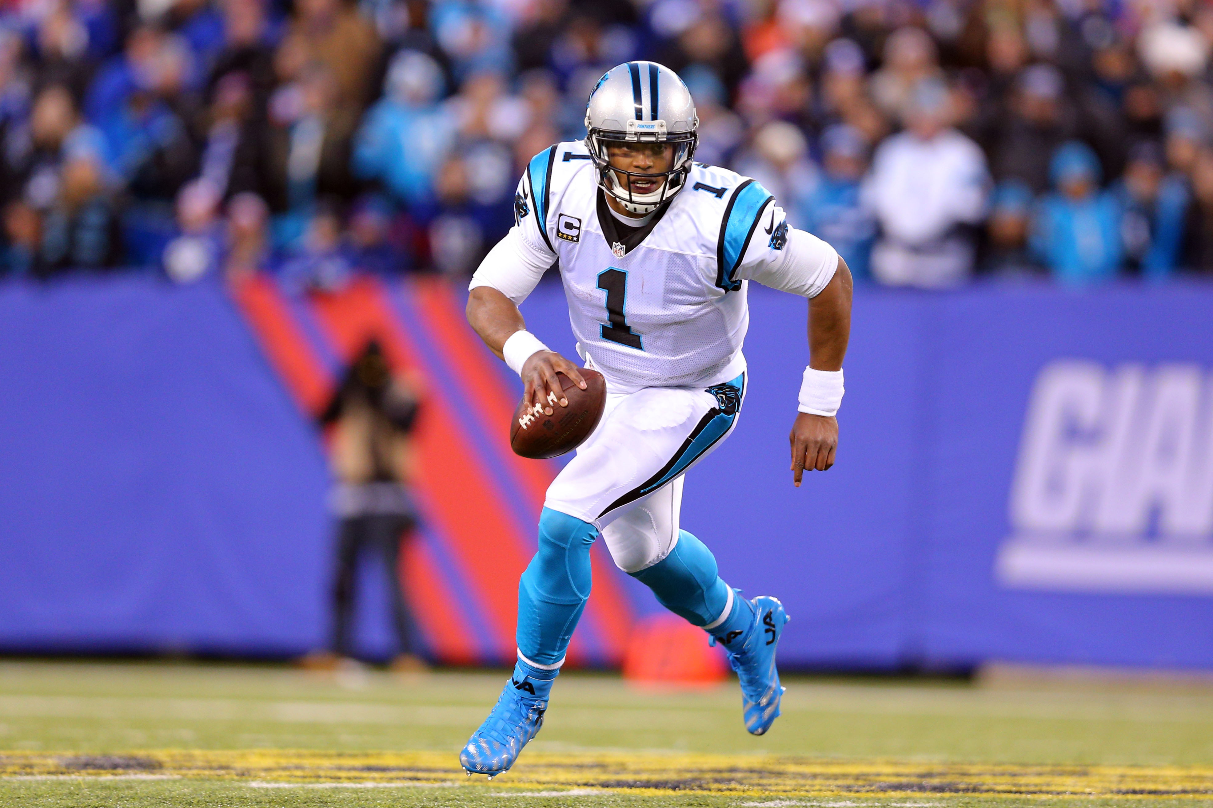 Cam Newton and the Panthers look to continue their perfect season.