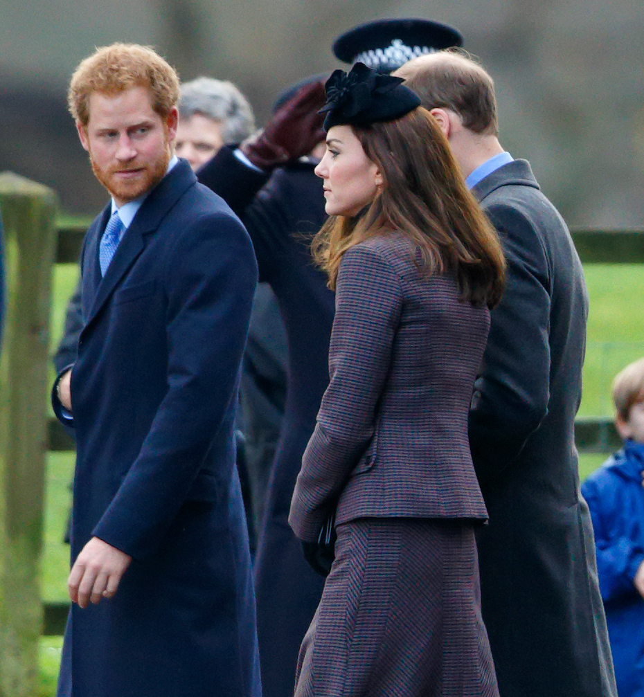 Prince Harry's Beard Attends Church Service, Envies Kate Middleton's Hat