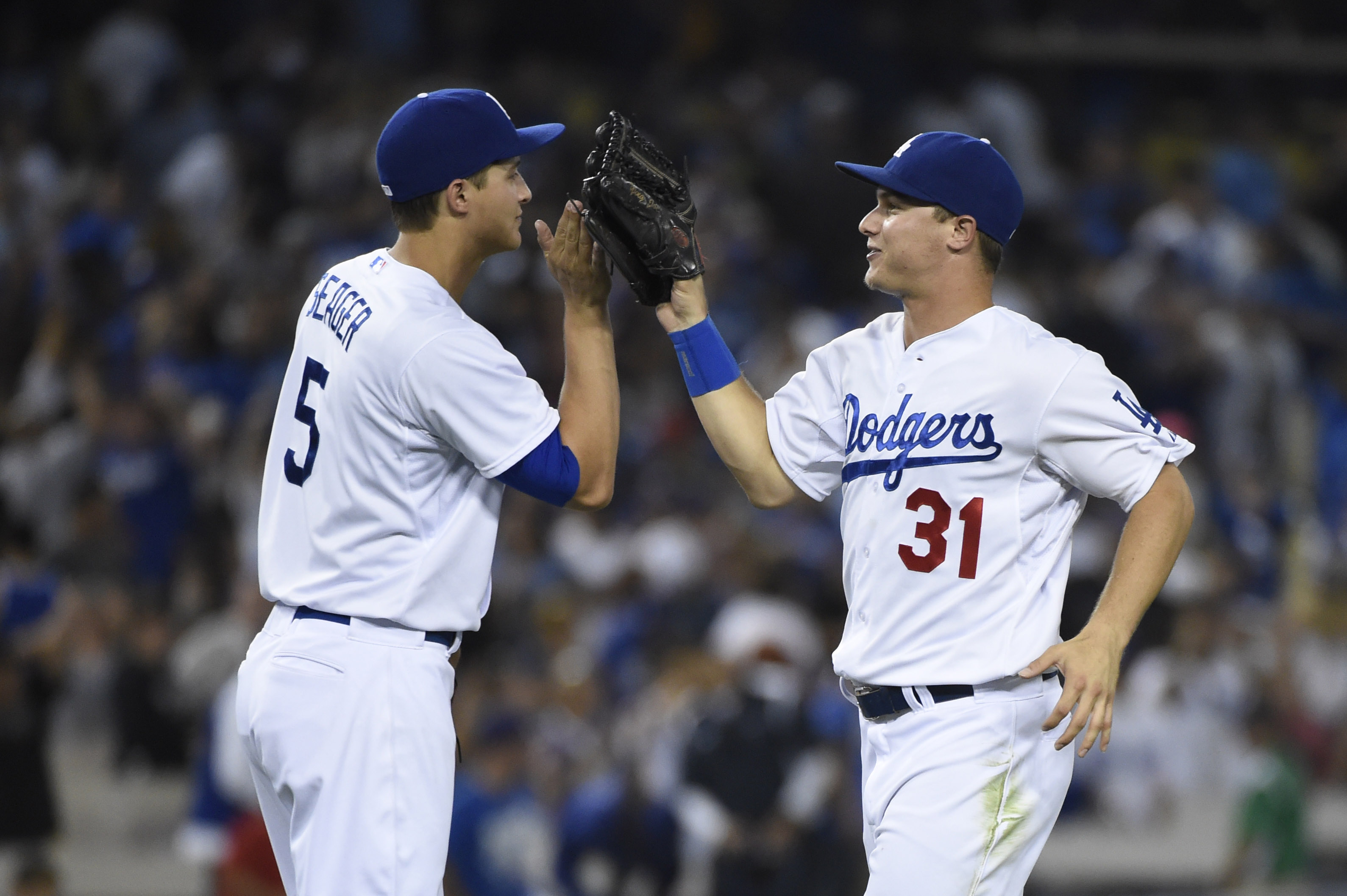 Corey Seager and Joc Pederson will figure greatly in the Dodgers' next five seasons, either directly or indirectly.