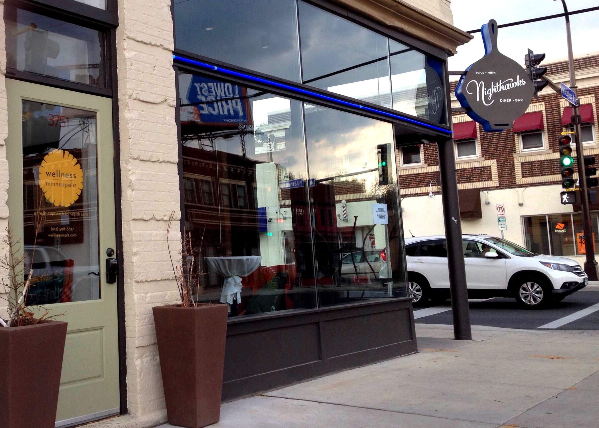 With Nighthawks and others, this is the neighborhood the foodies loved in 2015.