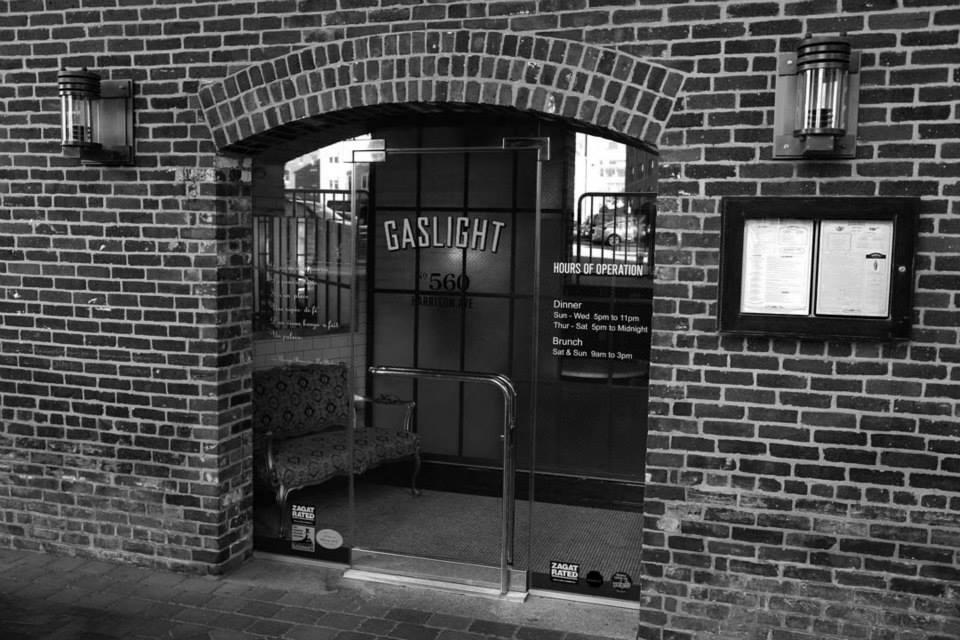 Exterior of the Boston Gaslight Brasserie du Coin