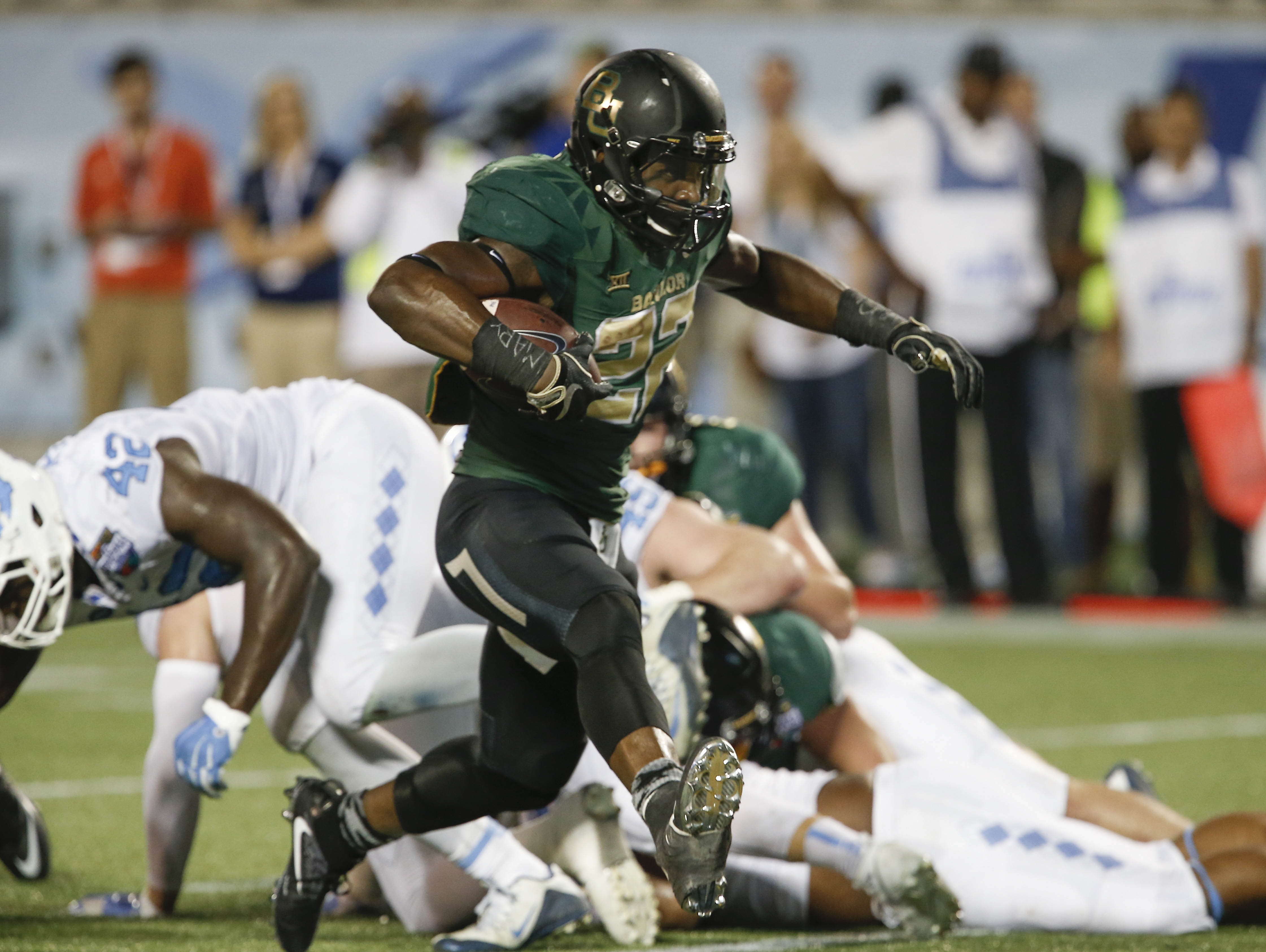 Pretty sure Baylor just ripped off another 145 yard run