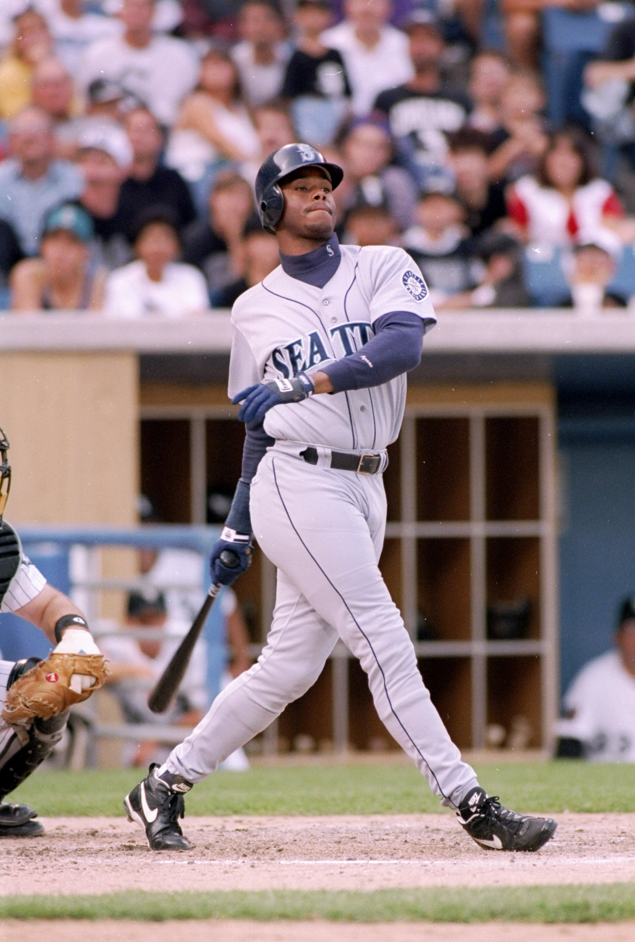 Ken Griffey Jr. always had one of the sweetest swings in the game