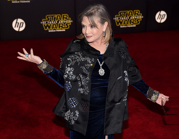 Carrie Fisher fires back at body shamers: 'Blow us'