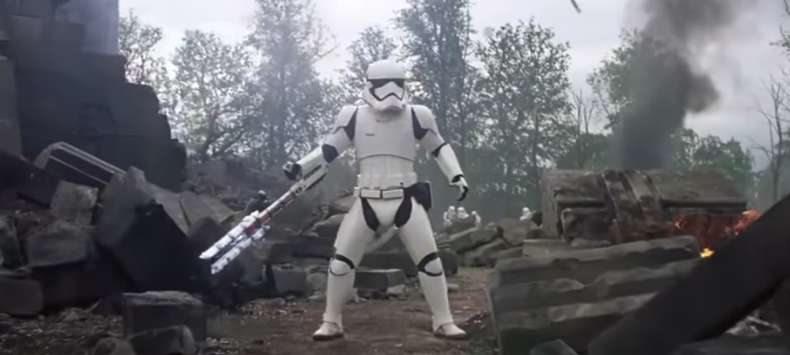 The canonical story behind TR-8R, the internet's new favorite stormtrooper